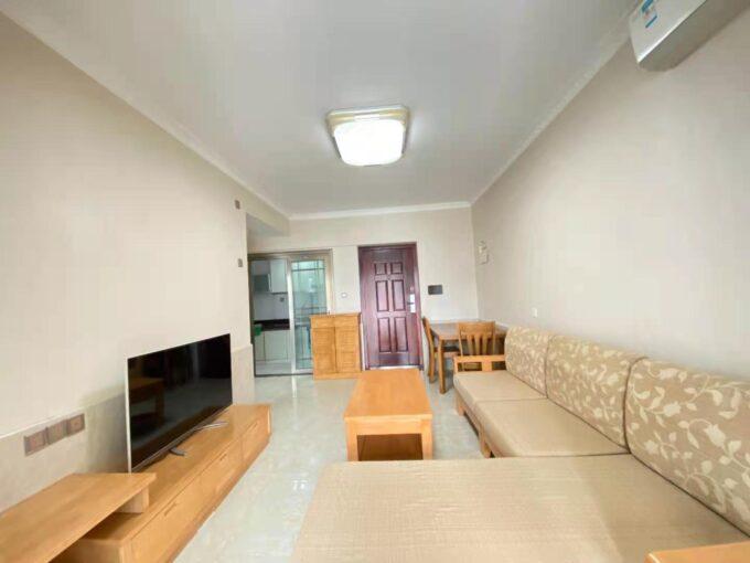 宝安区西城雅筑B栋1609一房一厅+小书房45平米家电全齐