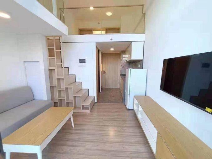宝安区碧桂园凤凰智谷C栋2136看山方向精装35平复式一房一厅