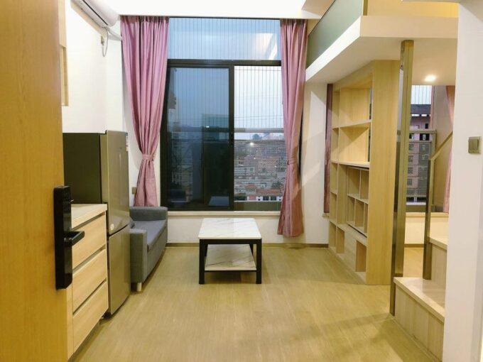 宝安区沙井湾景商务中心2栋B座810精装40平3房2厅拎包入住